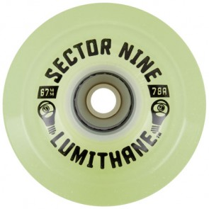 Sector 9 67mm Lumithane Wheels - Glow