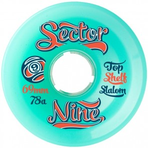 Sector 9 69mm 9-Balls Wheels - Aqua