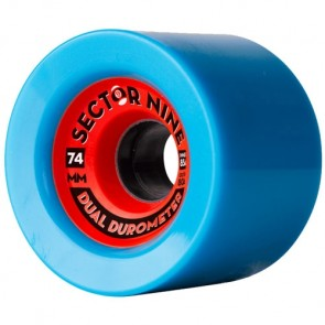 Sector 9 74mm DD 80out/85in Wheels - Blue