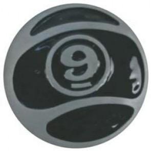 Sector 9 9-Ball Belt Buckle - Black