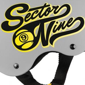 Sector 9 Rally Helmet - Grey