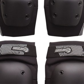 Sector 9 Pursuit Pad Set - Black