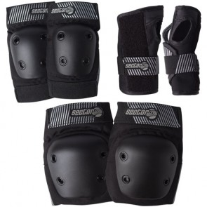 Sector 9 Youth Pursuit Pad Set - Black