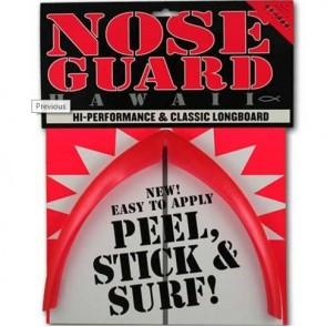 Surfco Hawaii Longboard Nose Guard - Red