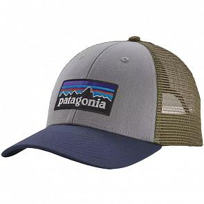 Patagonia P-6 LoPro Trucker Hat - Drifter/ Gray