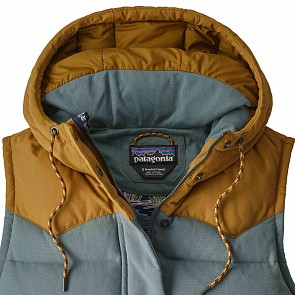 Patagonia Women's Bivy Down Hooded Vest - Shadow Blue