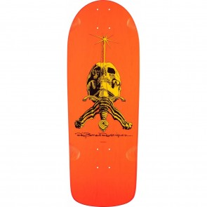 Powell Peralta Ray Rodriguez Skull And Sword Pro Deck - Orange
