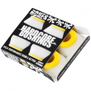Bones Hardcore Bushings - Medium - Yellow/White