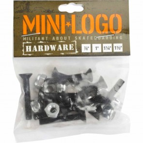 "Mini Logo 1"" Bolt Hardware"