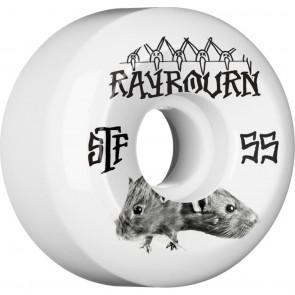 Bones 55mm STF Pro Raybourn Choose Wheels - White