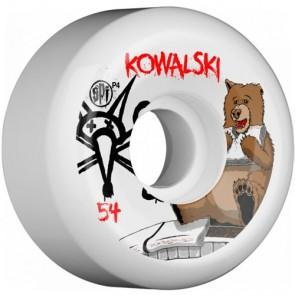 Bones 54mm SPF Pro Kowalski Bear Wheels - White