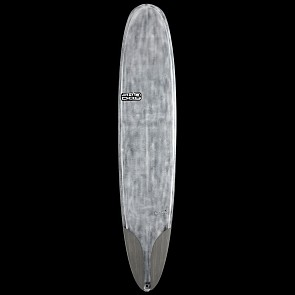 Skindog Smoothie Thunderbolt Surfboard - Brushed Clear - Deck