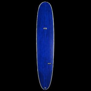 Skindog Wrangler Thunderbolt Surfboard - Brushed/Blue Tint - Deck