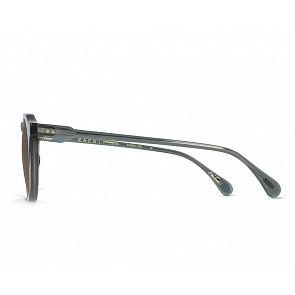 Raen Remmy Polarized Sunglasses - Slate Crystal / Vibrant Brown