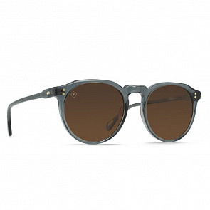 Raen Remmy Polarized Sunglasses - Slate Crystal / Vibrant Brown - Sideangle