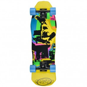 Hosoi Pop Art Mini Cruiser Complete - Yellow