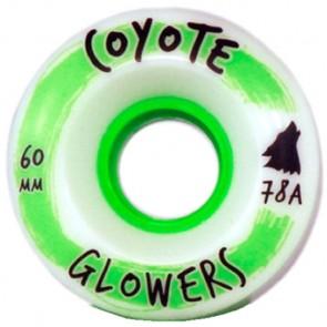 Coyote Wheels 60mm Glowers Wheels - White