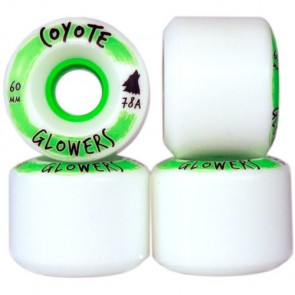 Coyote Wheels 60mm Glowers Wheels - White