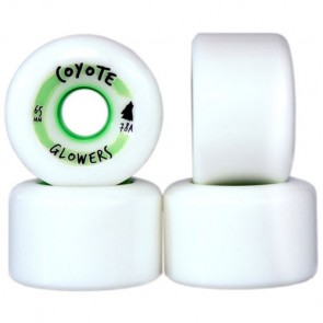 Coyote Wheels 65mm Glowers Wheels - White