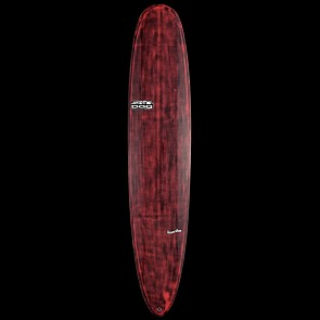 Skindog Smoothie Thunderbolt Surfboard - Red Xeon - Deck