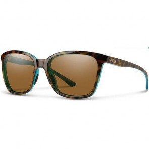 Smith Women's Colette Polarized Sunglasses - Tortoise Marine/ChromaPop Brown