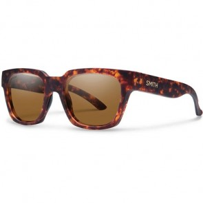 Smith Comstock Polarized Sunglasses - Matte Vintage Havana/Chromapop Brown