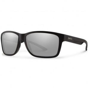 Smith Drake Polarized Sunglasses - Matte Black/ChromaPop+ Platinum