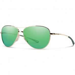 Smith Women's Langley Sunglasses - Gold/Green Sol-X Mirror