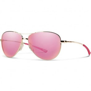 Smith Women's Langley Sunglasses - Gold/Pink Sol-X Mirror