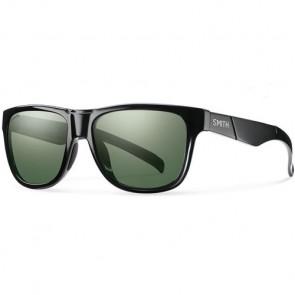 Smith Lowdown Slim Polarized Sunglasses - Black/ChromaPop Grey Green