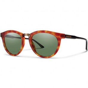Smith Questa Polarized Sunglasses - Matte Honey Tortoise/ChromaPop Grey Green
