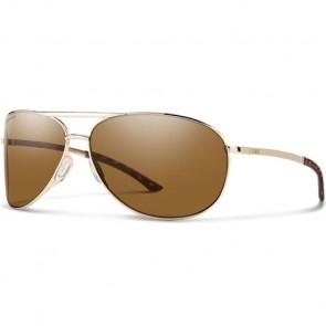 Smith Serpico 2.0 Polarized Sunglasses - Gold/ChromaPop Brown