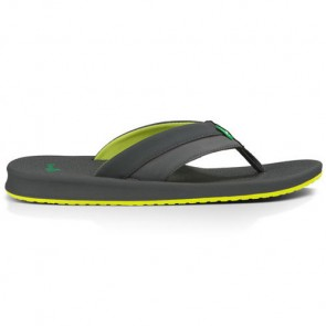 Sanuk Brumeister Sandals - Charcoal/Lightning