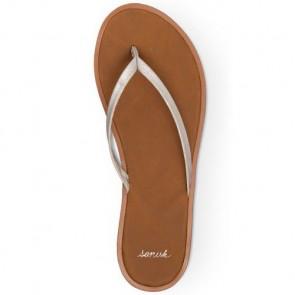 Sanuk Women's Yoga Aurora Glow Sandals - Silver