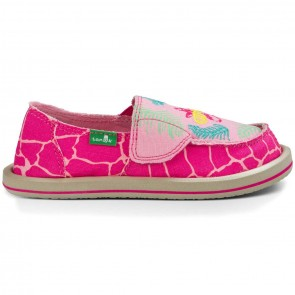 Sanuk Youth Scribble II Shoes - Giraffe Palm