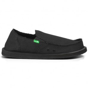 Sanuk Vagabond Shoes - Blackout