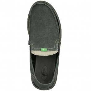Sanuk Pick Pocket Sidewalk Surfers - Charcoal