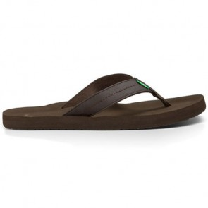 Sanuk Burm Sandals - Brown