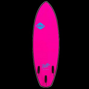 Softech Toledo Wildfire 5'11 Soft Surfboard - Neon