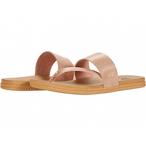 Reef Women's Cushion Bounce Sol Sandals - Rose Gold