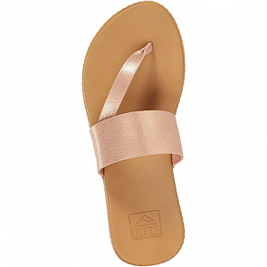 Reef Women's Cushion Bounce Sol Sandals - Rose Gold - Top