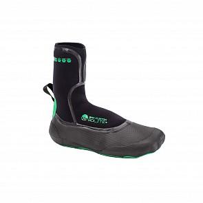 Solite Custom 3mm Split Toe Boots - Green/Black