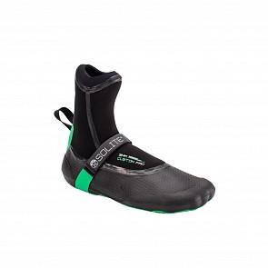 Solite Custom Pro 3mm Split Toe Boots - Green/Black