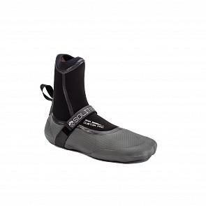 Solite Custom Pro 3mm Split Toe Boots - Black/Grey