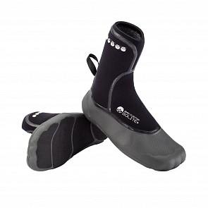 Solite Custom 6mm Split Toe Boots - Black/Grey