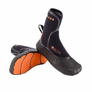 Solite Custom 6mm Split Toe Boots - Orange/Black