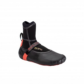 Solite Custom Fire 8mm Round Toe Boots - Black/Red