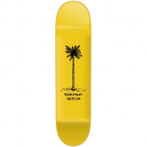 Permanent Vacation Nate Palm Deck - Yellow