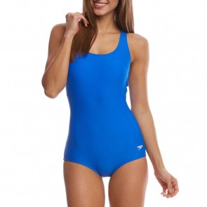Speedo Women's Ultraback One-Piece Swimsuit - Radiant Blue