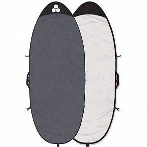 Channel Islands Feather Lite Specialty Surfboard Bag - Charcoal/Hex